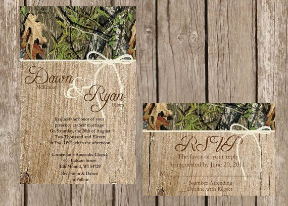 best ideas about camo wedding invitations on, invitation samples