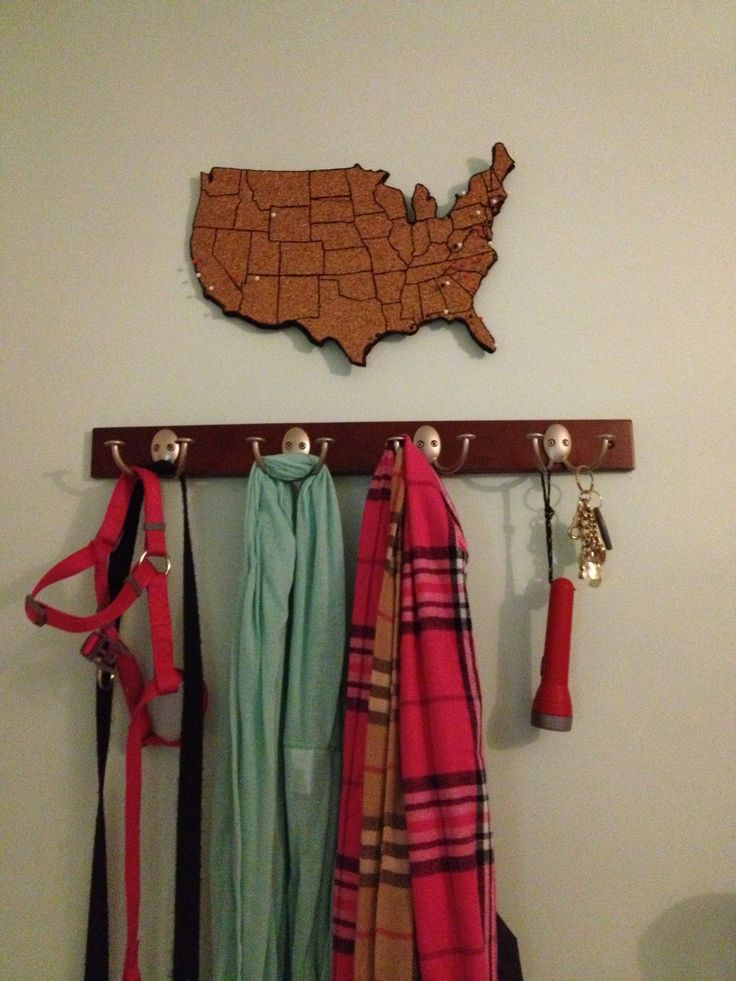 Travel Tracking: a DIY Cork Map - Charleston Crafted