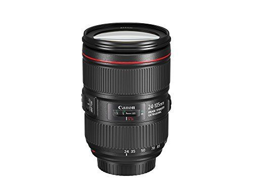 The EF 24-105mm f/4 L IS II USM is a lightweight and maneuverable standard zoom lens with Image Stabilizer (IS)....