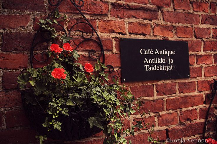 Café Antique at Fiskars, Finland