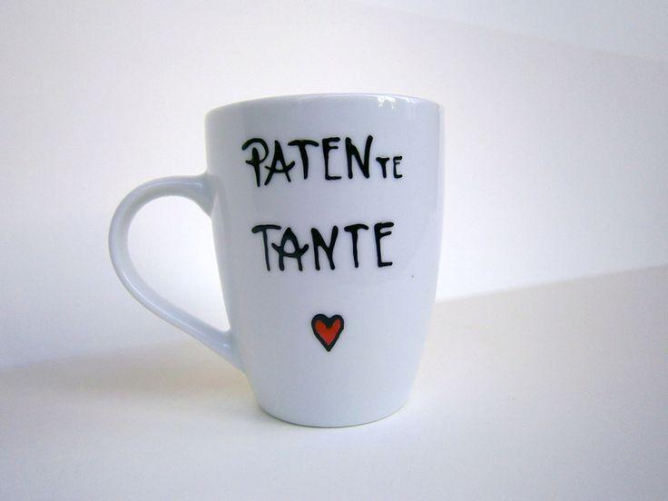 Tasse für die PATENte Tante :-) von hochdietassen auf DaWanda.com