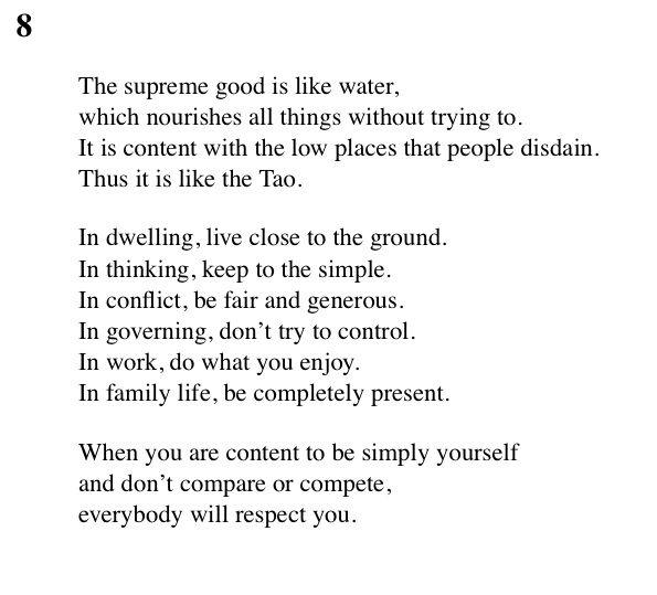 Tao Te Ching Summary & Study Guide