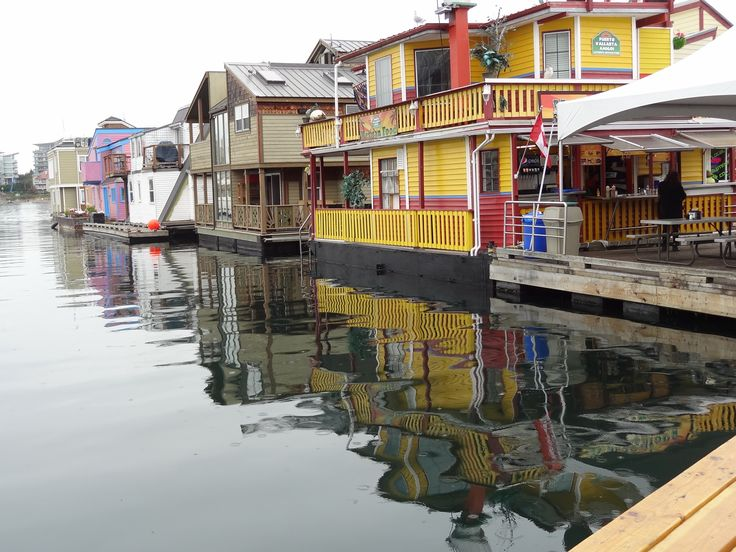 Houseboats, Victoria, BC