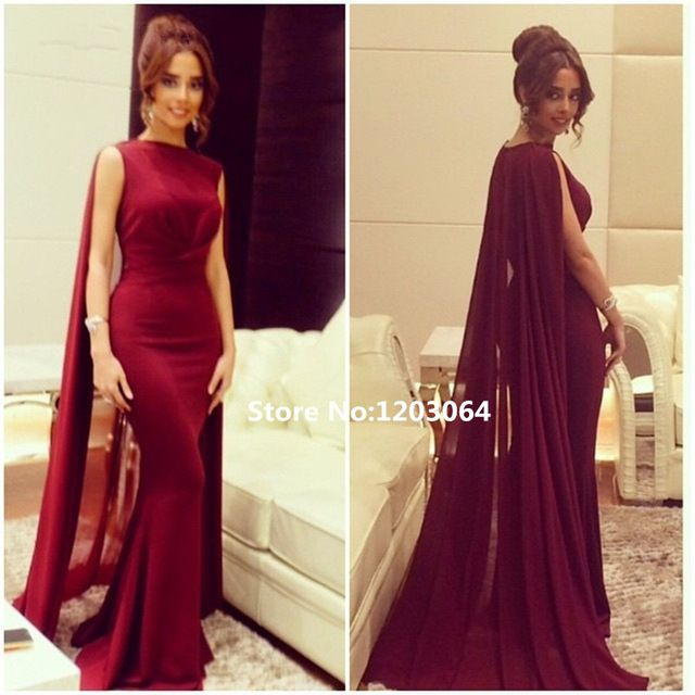 Дубай кафтан мать невесты платья 2016 новый русалка элегантный высокого шеи простой дизайн красном платье vestidos longos