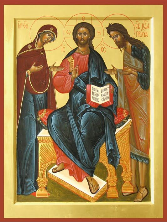 Icoane Ortodoxe: Deisis