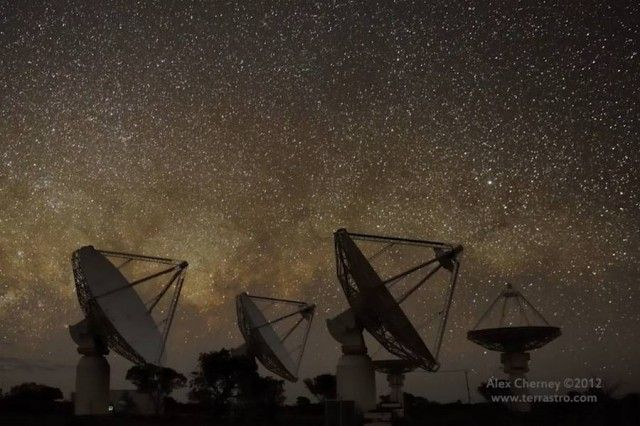 how to build a radio telescope at home australia