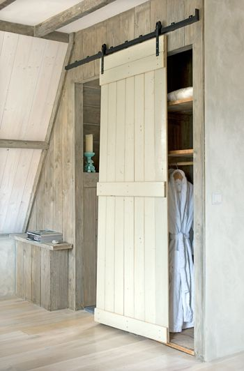 sliding barn style door
