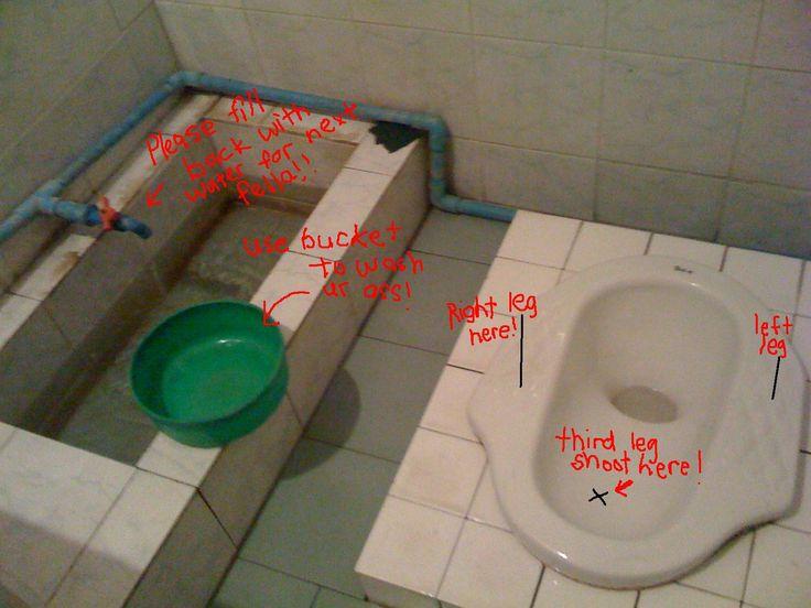 Using An Asian Toilet Right Asian Toilets Chinese Toilet Toilet