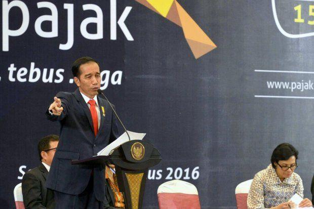 Widodo Asks Sri Mulyani to Address Public Concern over Tax Amnesty