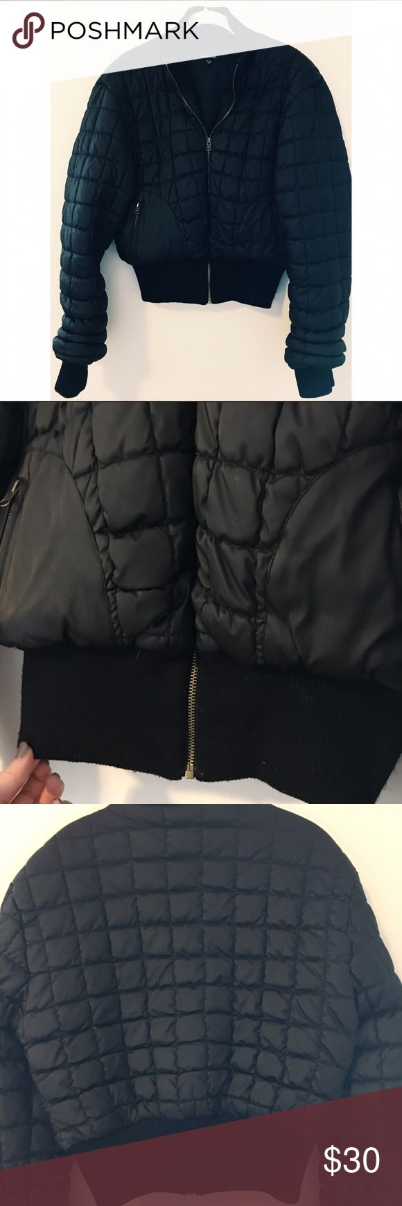 Bebe Women's Puffer Coat Size Medium Great condition, almost no sign of wear. Let me know if you have any questions! bebe Jackets & Coats Puffers