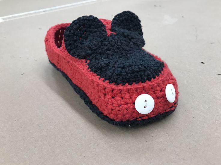 Mickey Slippers!!