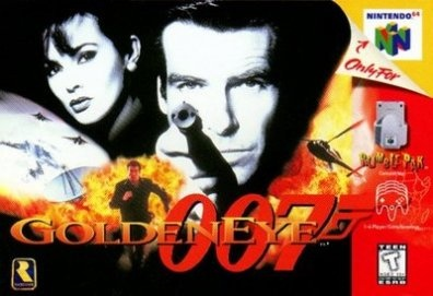 Goldeneye - Nintendo 64. One of the best games of ALL time.