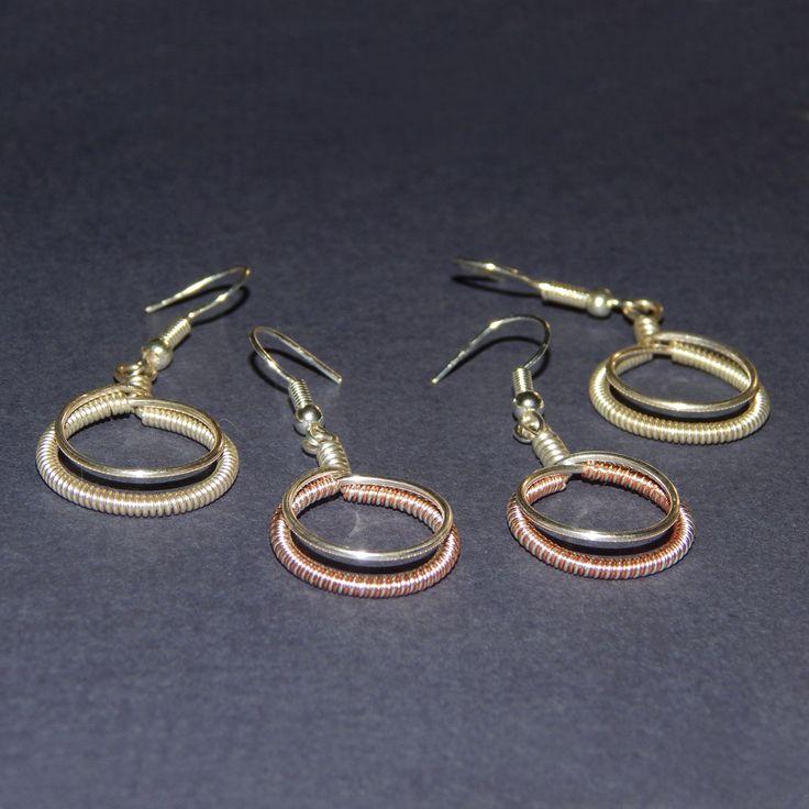 Kézzel készített fülbevalók.  Handmade earrings.