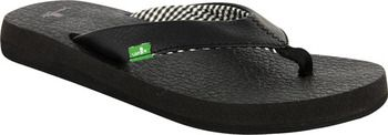 The most comfortable flip flops ever!  I own four different pairs from Sanuk!