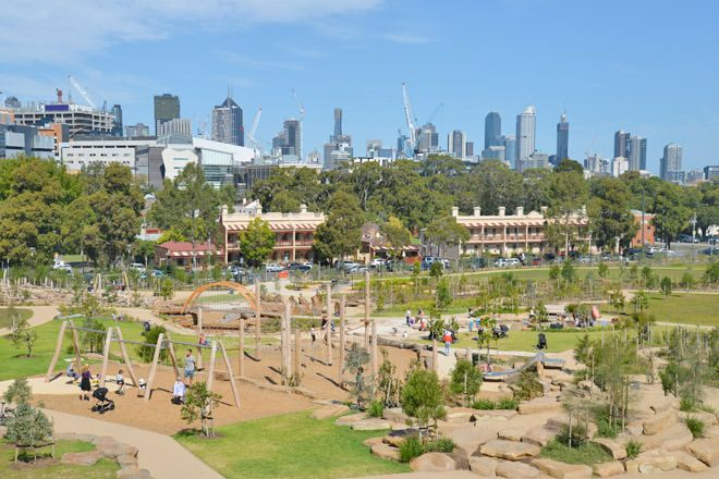 Royal Park Nature Playground, Melbourne