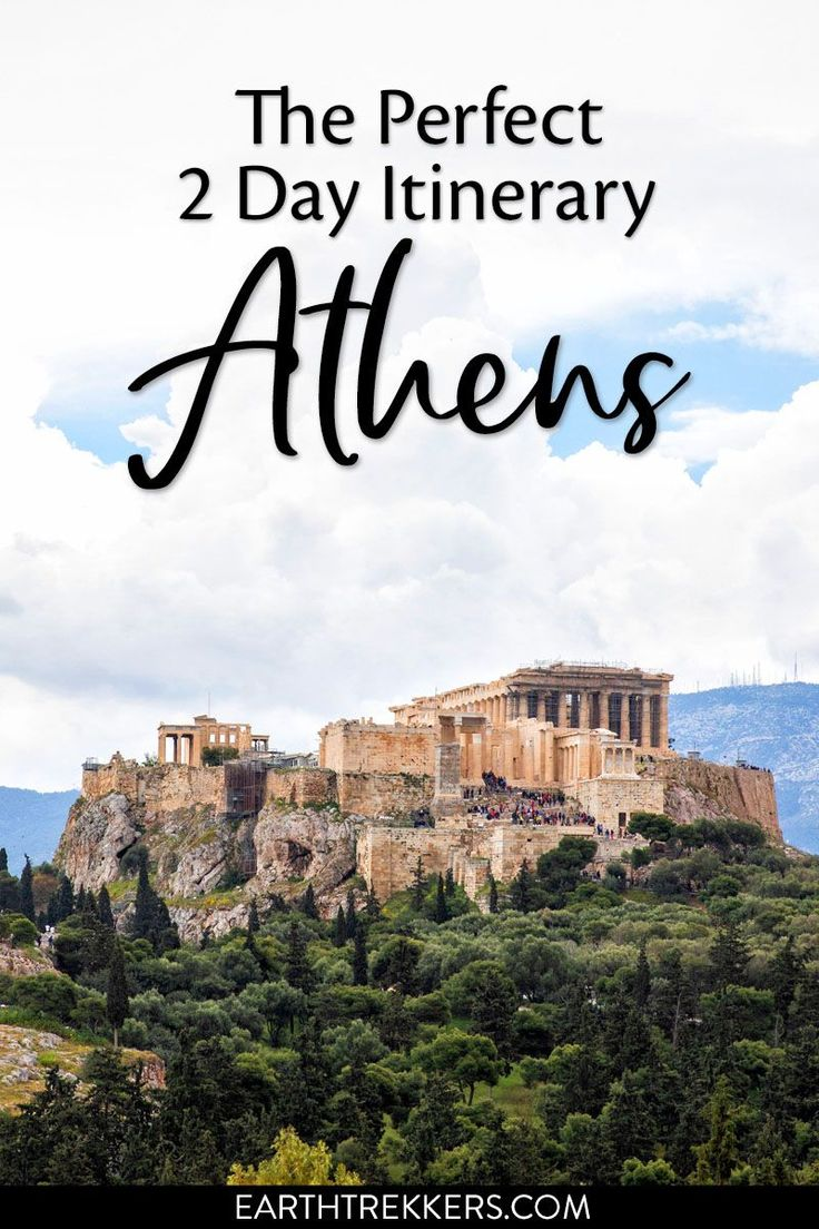 2 day Athens Itinerary and Travel Guide. Visit the…