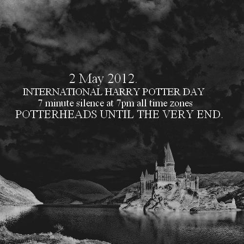 Harry Potter Day! May 2nd