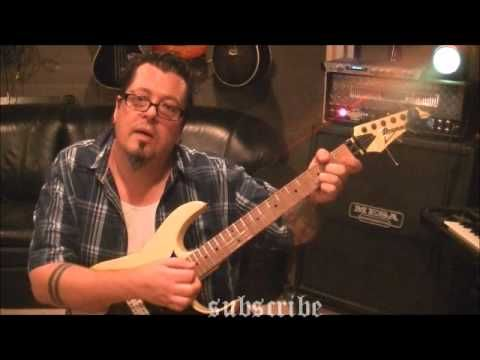 How to play Mr. Crowley by Ozzy Osbourne on guitar - YouTube