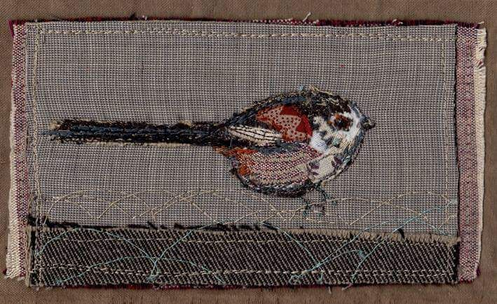 A Mistle Thrush of silk and linen will be flying over to Suffolk tomorrow.