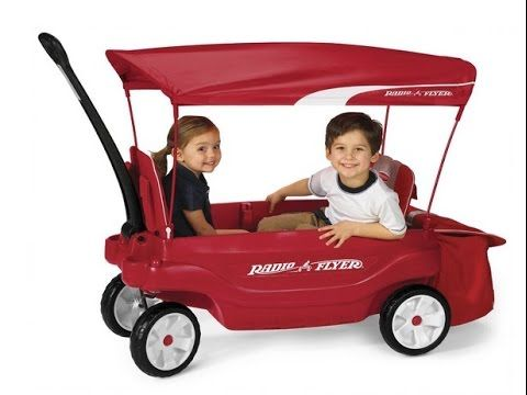 Radio Flyer The Ultimate Comfort Wagon, Red - I Love It