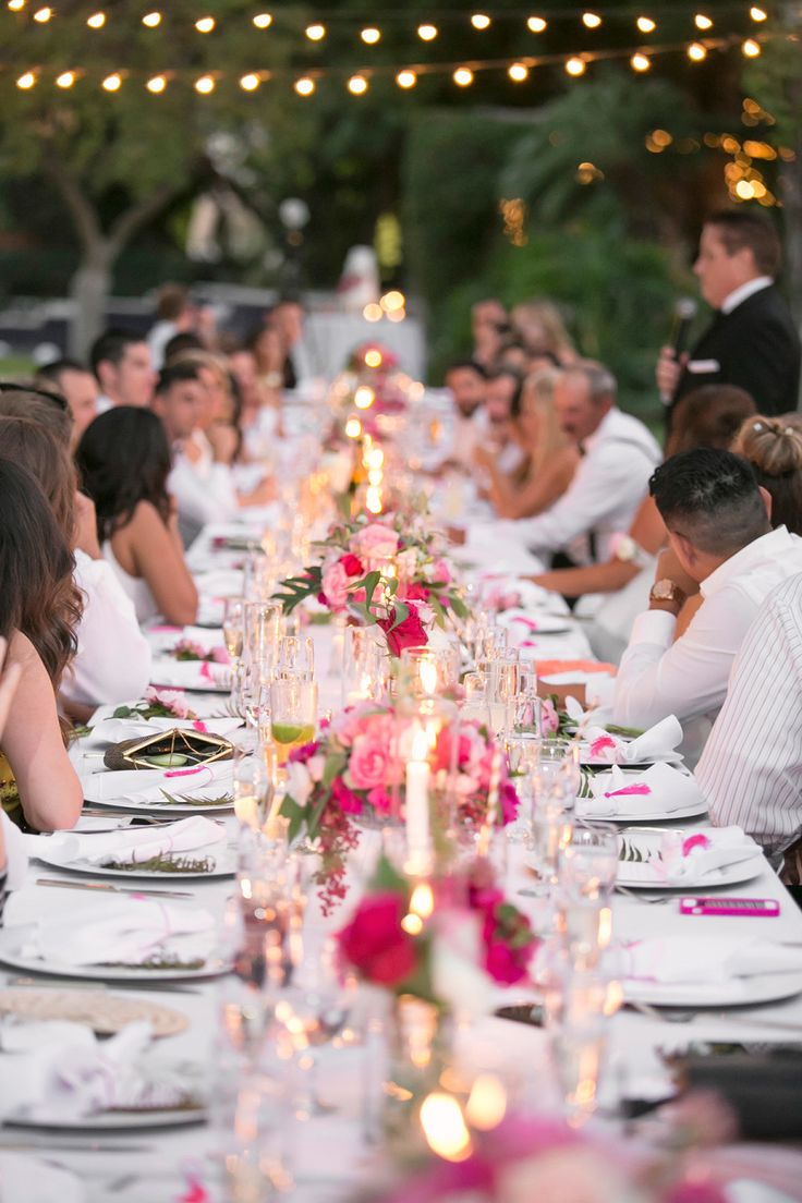 Modern Palm Springs Bash With A Cotton Candy Bar
