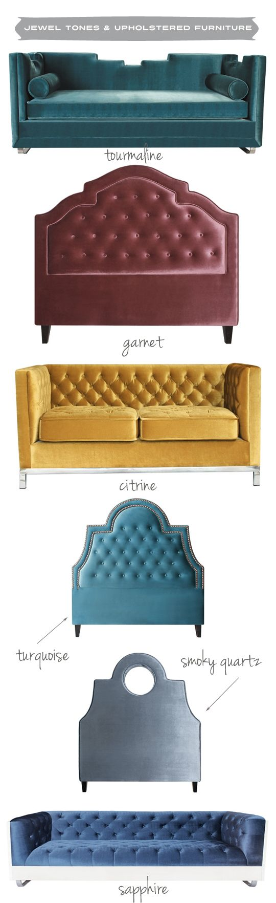 Anna Kohler And My Chic Nest Gemstone Inspired Upholstered Furniture