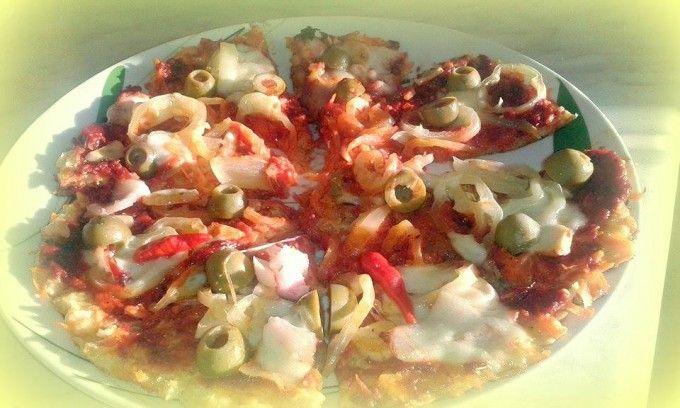 FITNESS mrkvovo-celerová pizza | NejRecept.cz