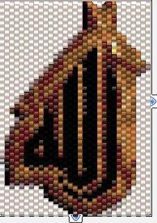 Islamic pattern peyote