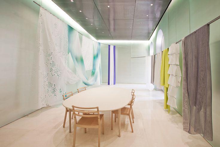 toyo ito designs interior for kinnasand flagship store in milan