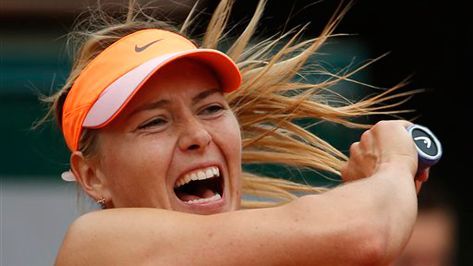 Maria Sharapova will play Eugenie Bouchard in the 2014 #FrenchOpen semifinals.