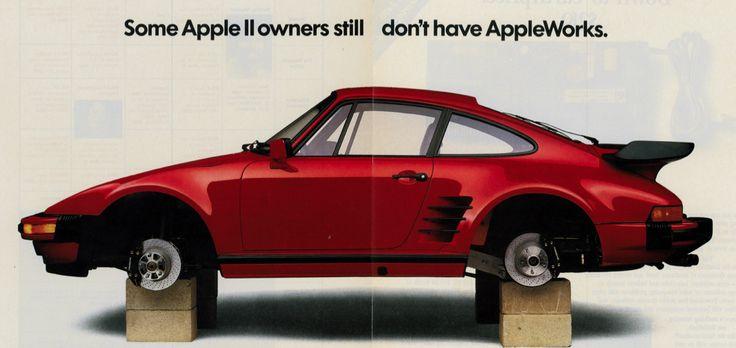 AppleWorks Claris Porsche