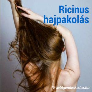 Házi kence, kozmetikum: ricinusolaj hajpakolás károsodott, festett hajra