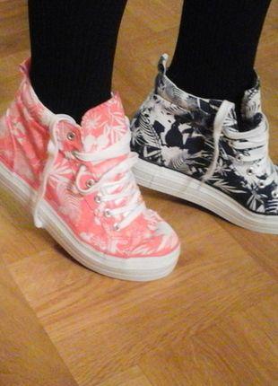 Kup mój przedmiot na #vintedpl http://www.vinted.pl/damskie-obuwie/obuwie-sportowe/9346577-nowe-wysokie-trampki-rozmiar-38-atmosphere
