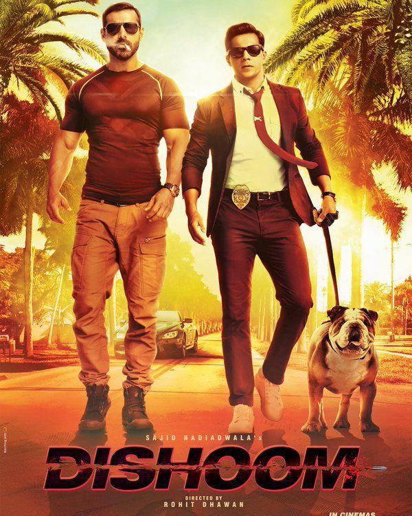 Dishoom (2016) Full HD Movie Free Download 691.7 MB