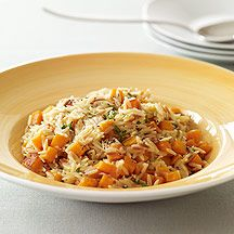 Weight Watchers Creamy Orzo Risotto with Butternut Squash