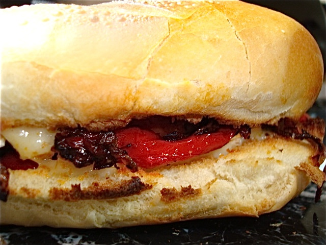 Chicken And Brie Sandwich With Pan-Roasted Cherry Tomatoes Recipe ...