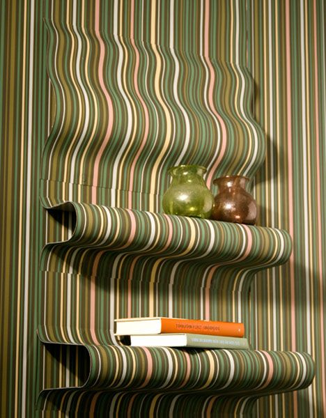 optical illusion shelving