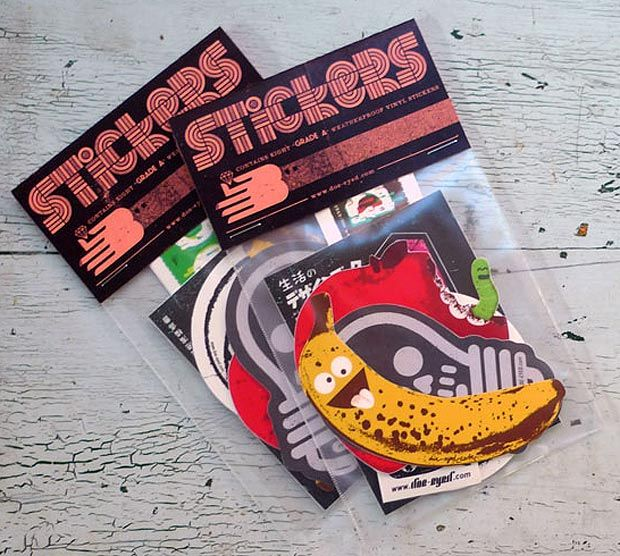 Custom made sticker packs