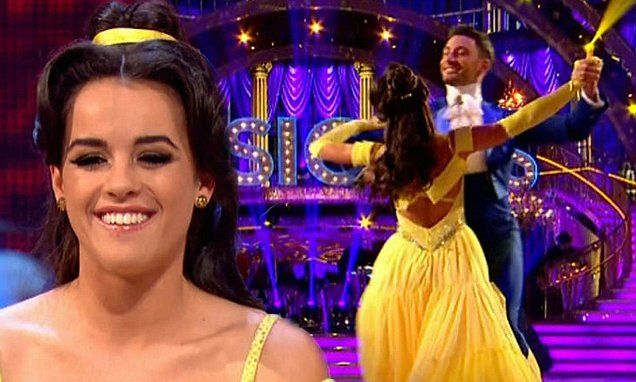 Georgia May Foote transforms into Disney favourite for Strictly