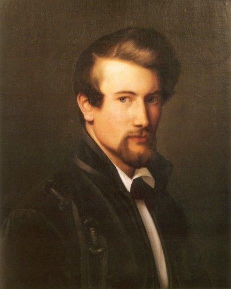 Adolph Tidemand - Selvportrett. 1838. jpg (461×576)