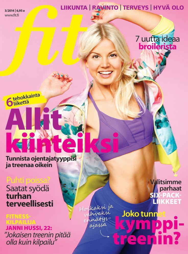 Fit numerossa 3/2014 ihana Janni Hussi I Kuva Mika Pollari I www.fit.fi