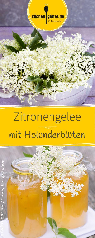Wir verraten euch wann Holunderblüten am aromatischsten sind und wann der Holunder blüht um dieses leckere Zitronengelee-Rezept zu kochen.
