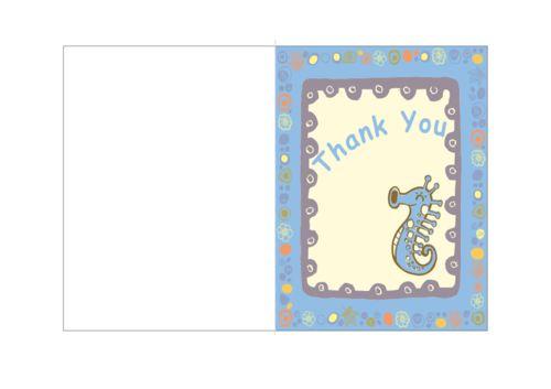 Cards for Kids #2  #ThankYou #Card #Free #Printable #Kids