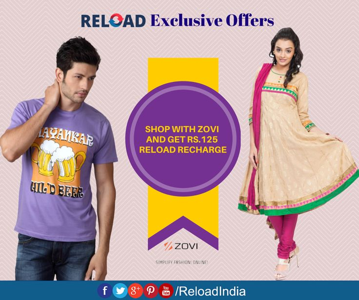 Shop and #Reload your wallet. Reload via https://www.reload.in/shop-and-earn-free-mobile-recharge-online