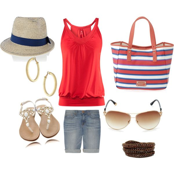 Vacation Wear!, created by andrea-st-clair.polyvore.com