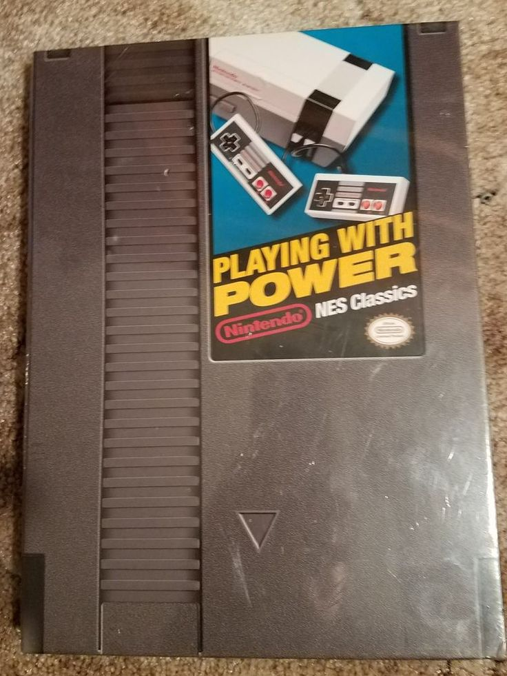Playing with Power: Nintendo NES Classics Hardcover Guide Book new 9780744017670 | eBay