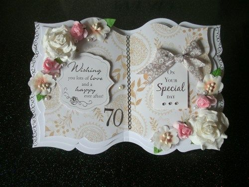 Personalized Birthday Card. Beautiful Open Book Design.   lovehugskisses - Cards on ArtFire