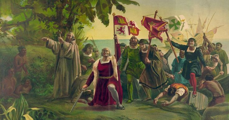 """""""In 1492 Columbus sailed the ocean blue!"""" But is there most to the legacy of Christopher Columbus?"""