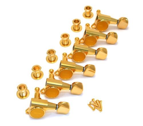 ???не уверен, что те???Gotoh Gold 6 Inline SEALED Round Button Mini Guitar Tuners TK 0760 002 | eBay