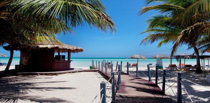 Jardines del Rey on Cayo Coco, an island in Cuba